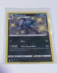 Shiny Morgrem - SV084/SV122 - Shining Fates Baby Shiny Holo Rare Pokemon Card NM