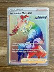 Rapid Strike Style Mustard 176/163 Secret Rare - Pokemon Battle Styles
