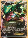 Green Used pokemon card Rayquaza EX BW47 PROMO 2012