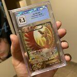 CGC 9.5 Ho-Oh Ex 121/122 XY Breakpoint Full Art Pokemon Card