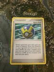 quick ball 114/123 mysterious treasures ex condition pokemon card