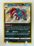 Galarian Obstagoon - SV080/SV122 - Shining Fates - Shiny - Pokémon TCG Card - NM