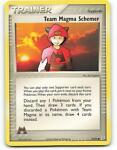 70/95   Team Magma Schemer   EX Magma Aqua   Pokemon Card   Near Mint