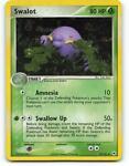 50/101   Swalot HOLO   EX Hidden Legends   Pokemon Card   Excellent