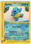 Squirtle 131/165 2002 Expedition Non Holo Pokemon Card MINT UNPLAYED