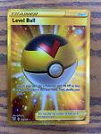 Level Ball Full Art Secret Rare Gold Pokemon Battle Styles 181/163 Near Mint