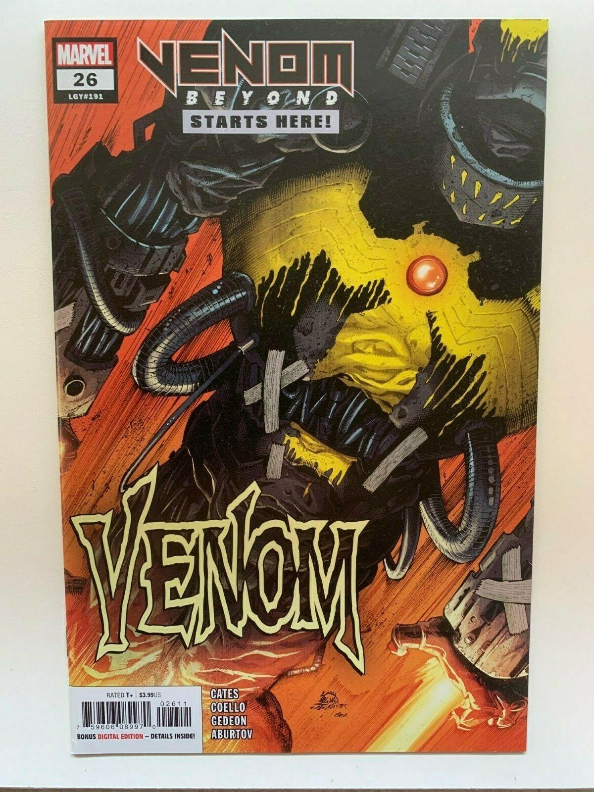 Venom #27 2020 Unread 1st Print Stegman Main Cover Marvel Comics Donny Cates