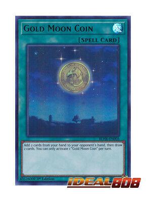 X3 YUGIOH GOLD MOON COIN BLHR-EN003 ULTRA RARE 1ST NM