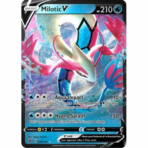 1X Milotic V 043//192 Rebel Clash Pokemon TCG Online Digital Card