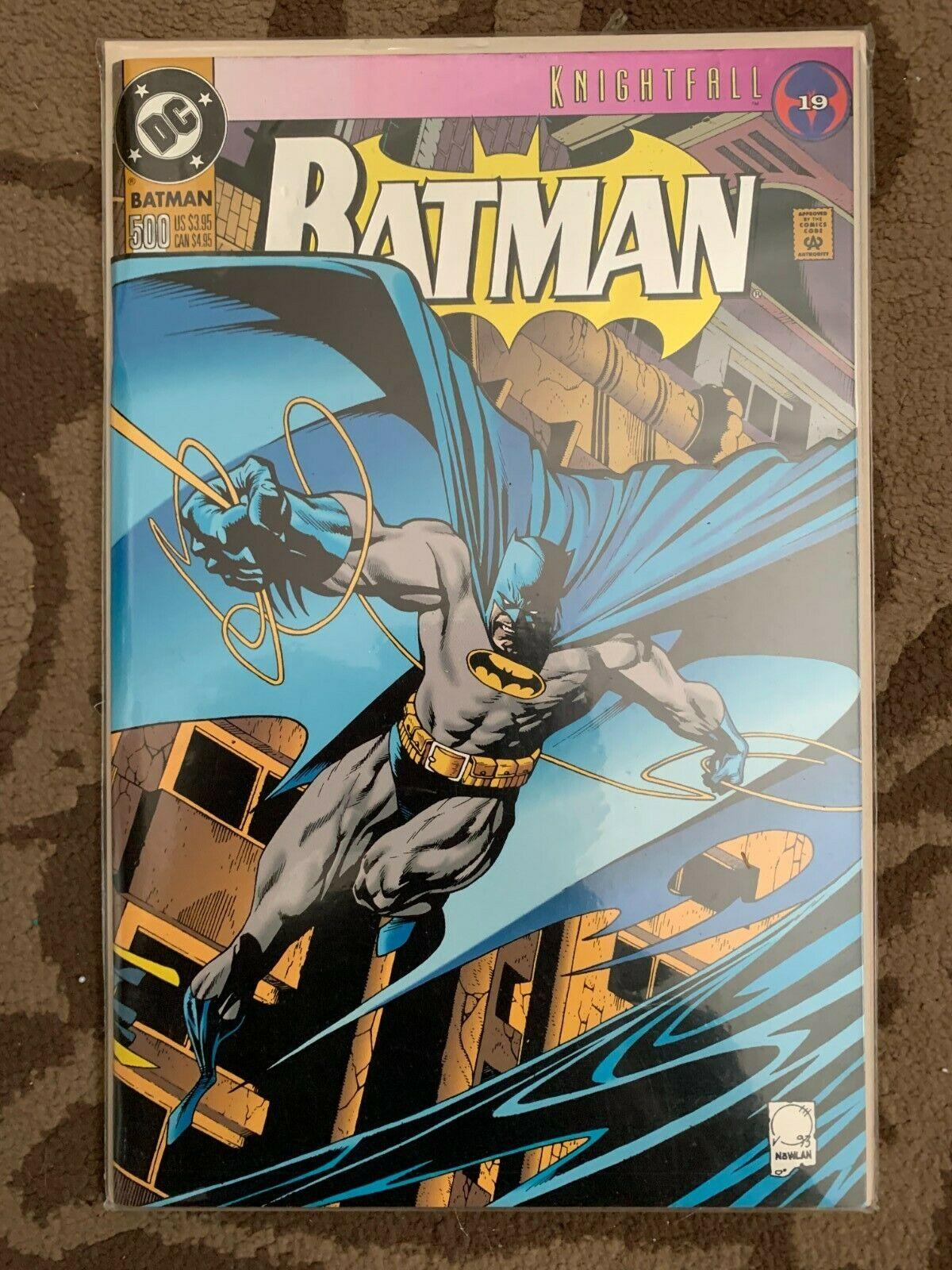 dc batman 9 knightfall Value $9.9   $9.39   MAVIN